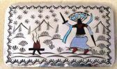 Gürtelschnallen Indianerschmuck