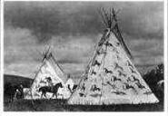 119 Sioux Teepees, Fort Yates