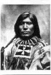 136 Scorched Lightning, Miniconjou Sioux Warrior