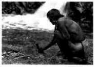 277 An Offering At The Waterfall Nambé 1925