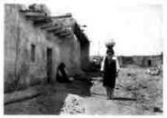 291 Sia Street Scene Zia Pueblo 1925