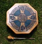 40 cm Celtic Drum - Indianische Rahmentrommel