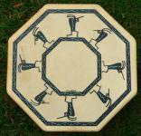 40 cm Kokopelli The Joybringer Drum - Indianische Rahmentrommel