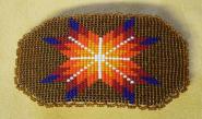 Haarspange - Lakota Indianer