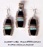 Set - Ohrringe und Kettenanhänger - Navajo A. Francisco