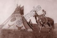 Mini Poster - M232 A PAINTED TIPI