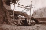 Mini Poster -  M273 THE BLANKET WEAVER