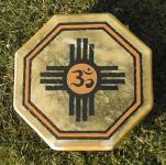 40 cm Om Zia Drum - Indianische Rahmentrommel