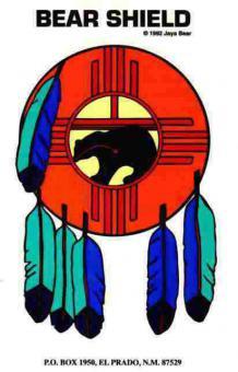 Aufkleber - Bear Shield