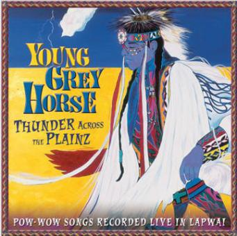 Young Grey Horse - Thunder Across the Plainz