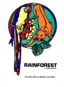 Aufkleber - Rainforest