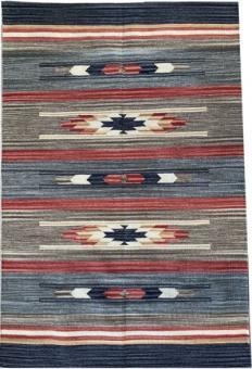 Teppich im Southwest Design Azteca