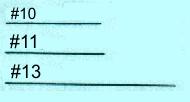 Perlstick-Nadeln #13