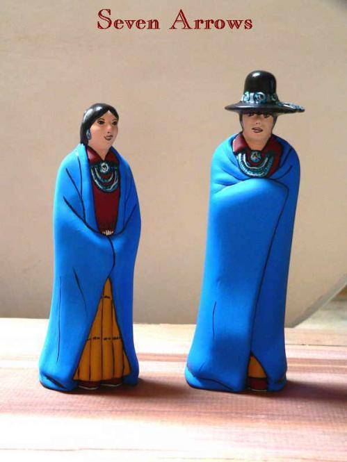 Navajo Großeltern Paar