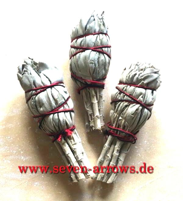 White Sage Räucher Bündel Medium